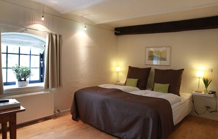 Double rooms at Benniksgaard Hotel