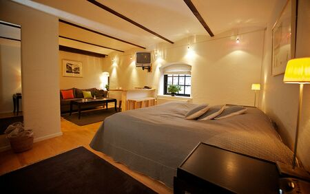 Hotel rooms with inviting atmosphere and tranquility
